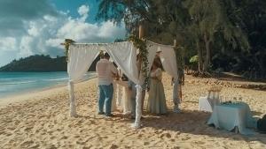 Hochzeit an der Anse Intendance Hochzeitszeremonie