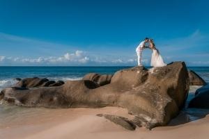 Hochzeit Carana Beach Hochzeitskuss