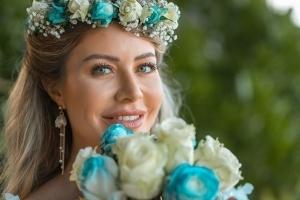Hochzeit Seychellen Brautportrait