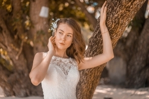 Hochzeitsfoto Glacis Braut portrait