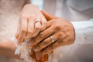 Hochzeitsfoto Glacis Eheringe