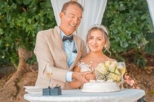 Strandhochzeit Fotos Mahe Hochzeitstorte