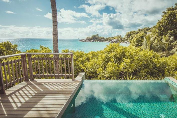 Carana Beach Hotel Ocean View Pool Chalet