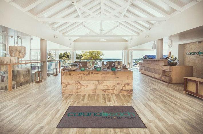 Carana Beach Hotel Reception