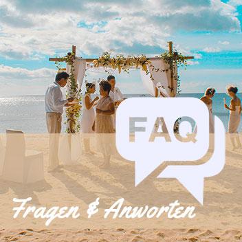 FAQ Fragen & Antworten Hochzeit Seychellen