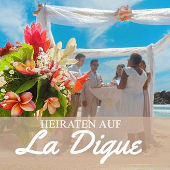 Heiraten auf La Digue