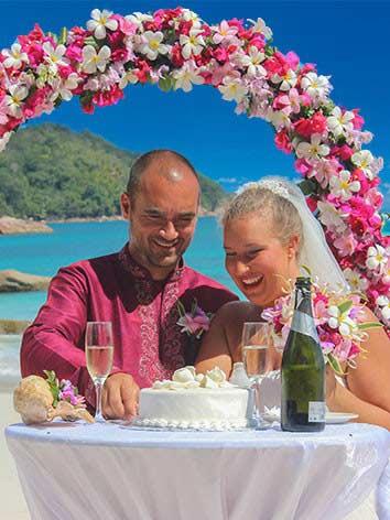 Hochzeitspakete Seychellen