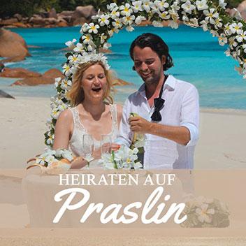 Heiraten auf Praslin