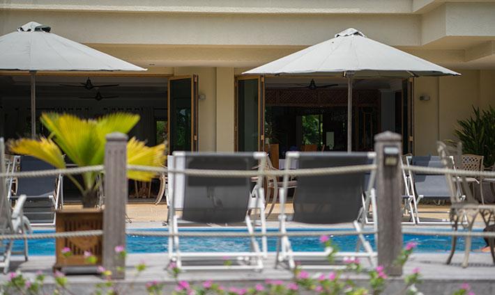 Crown Beach Hotel Pool Deck