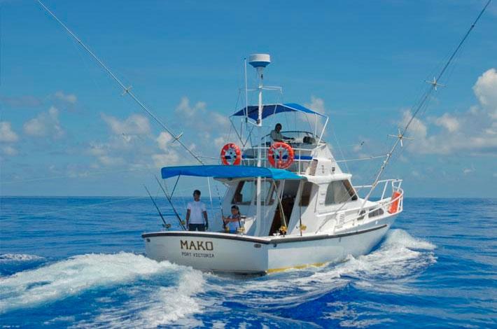 Denis Private Island Fishing