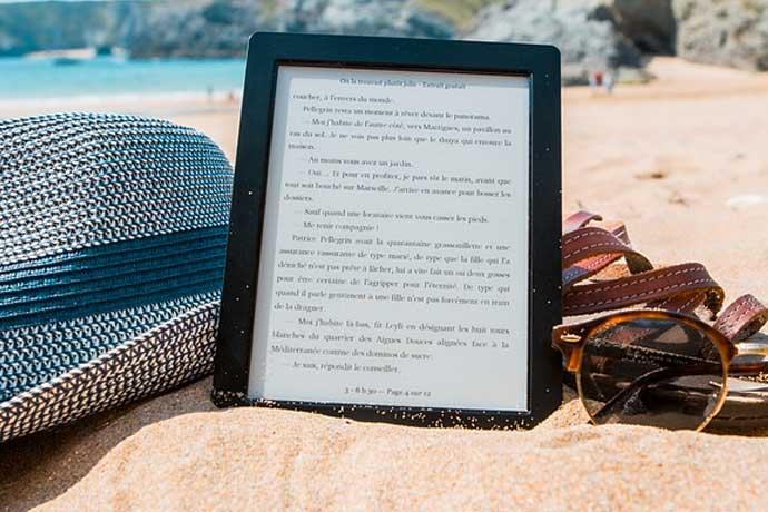 Ebook lesen am Strand