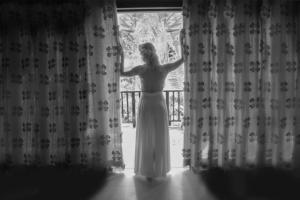 Hochzeit auf Praslin Braut im Hotel