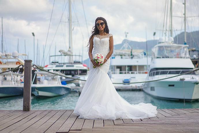 Hochzeit Mahè, Eden island