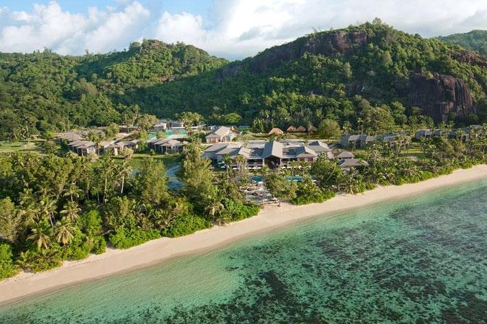 Kempinski Seychelles Resort Aerial