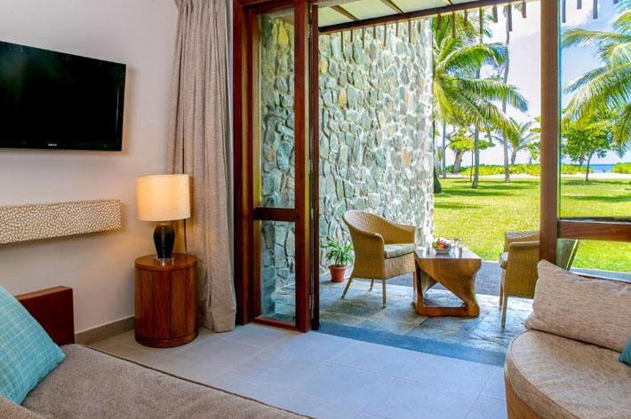 Kempinski Seychelles Resort Beachside Room