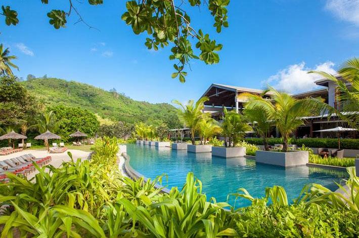 Kempinski Seychelles Resort Pool