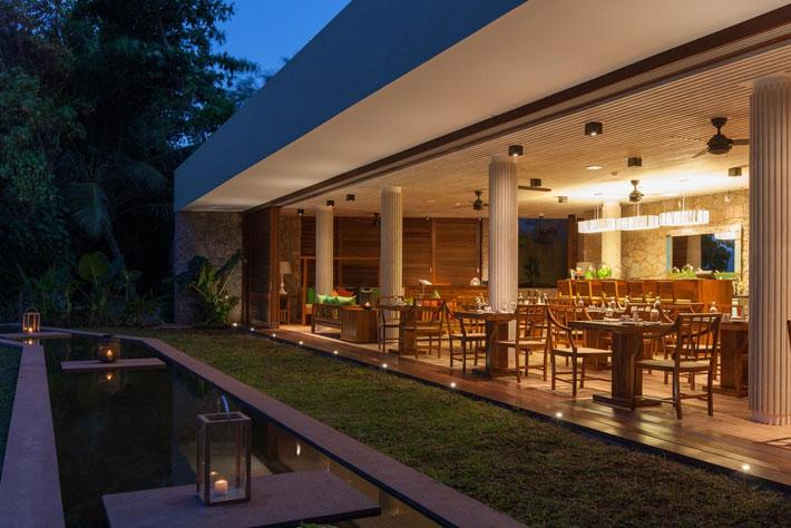 Le Relax Luxury Lodge Villa Dinner