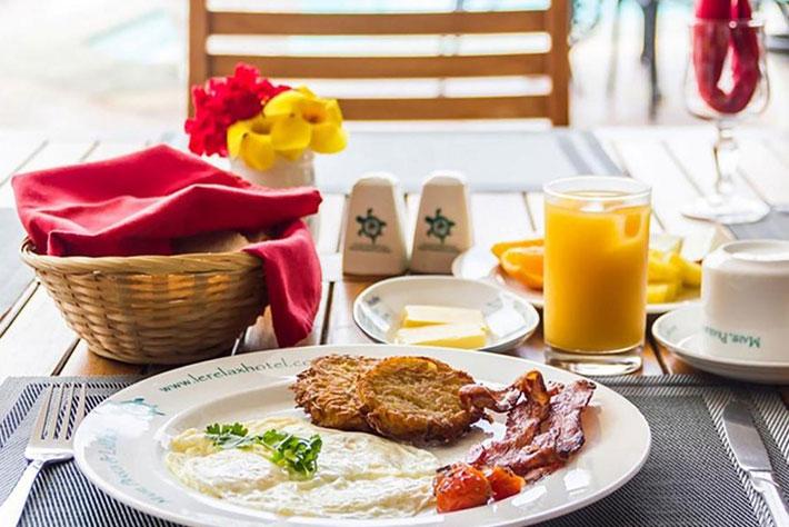 Le Relax Luxury Lodge Villa Breakfast