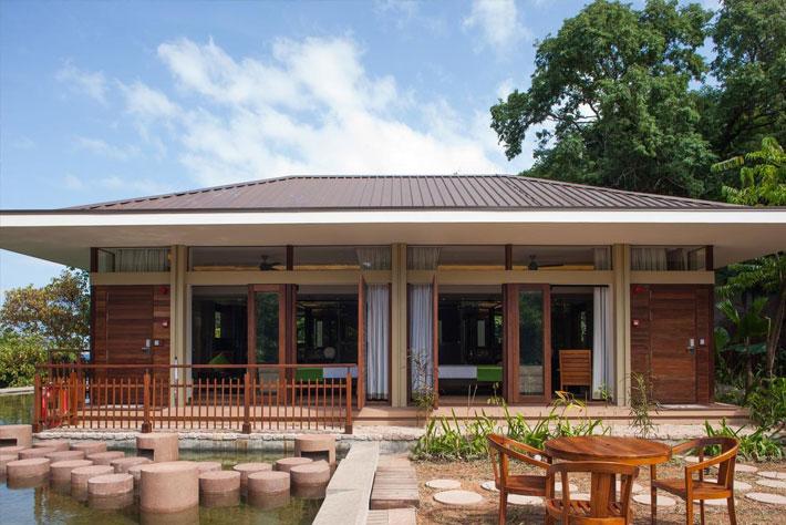 Le Relax Luxury Lodge Villa Front