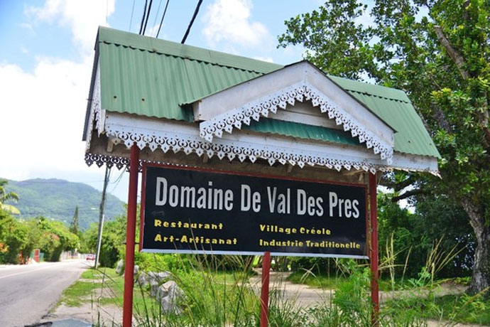 Mahè, Domaine Val Pres
