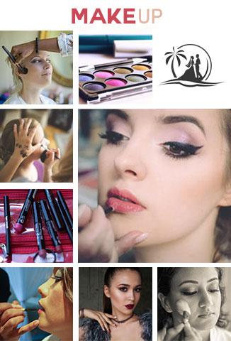 option braut makeup mobil