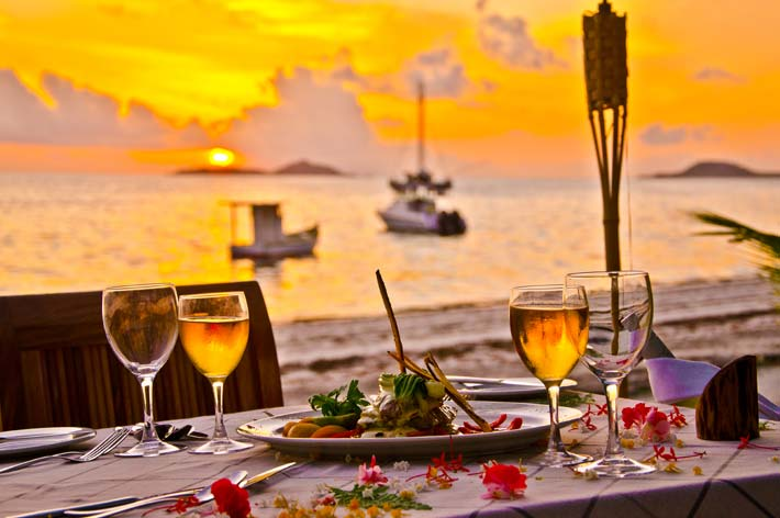 Indian Ocean Lodge Dinner
