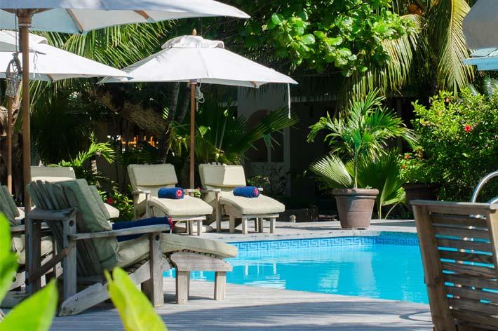 Indian Ocean Lodge Pool Deck