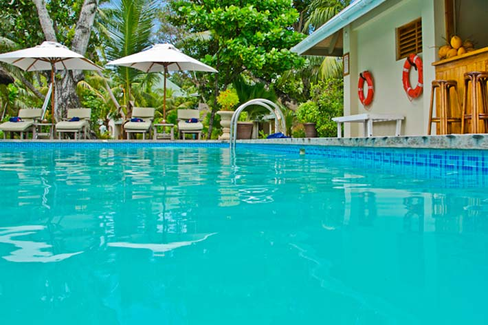 Indian Ocean Lodge Pool