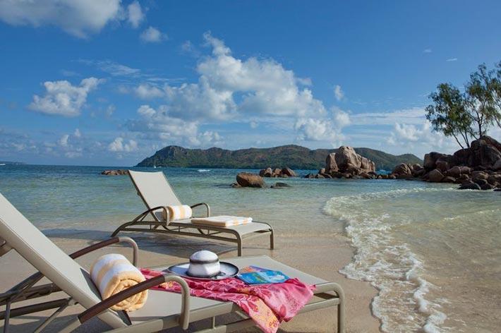 Raffles Seychelles Resort Beach