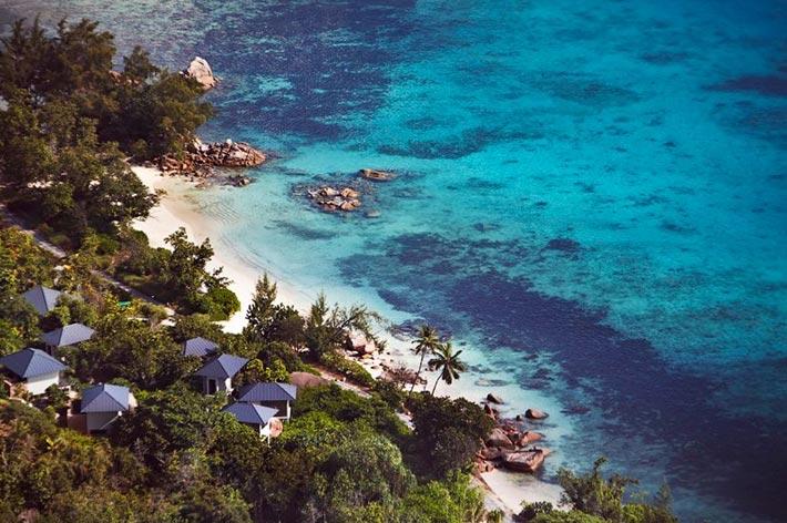 Raffles Seychelles Resort Küste