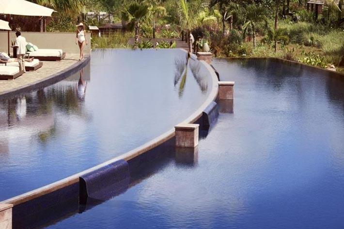 Raffles Seychelles Resort Pool