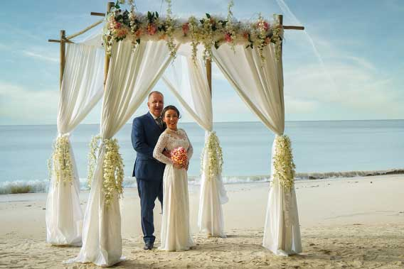 Romantic Island - symbolische Heirat und Zeremonie