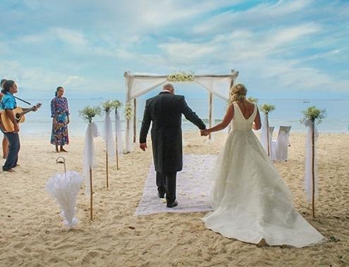 Romantic Island - Seychellen Ehegelübte erneuern Dekoration