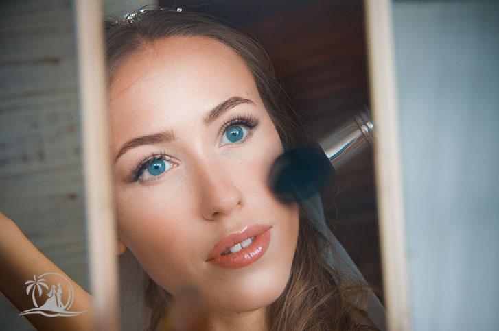 Seychellen Fotograf Makeup