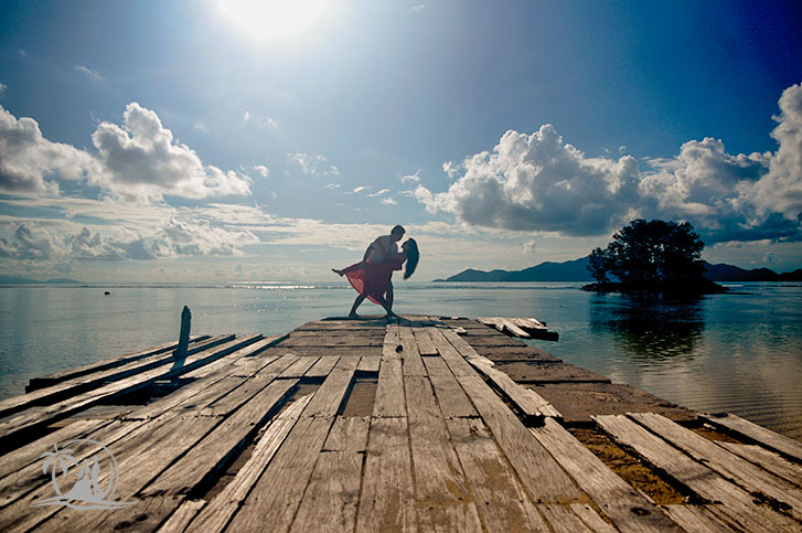 Fotograf Seychellen Honeymoon La Digue