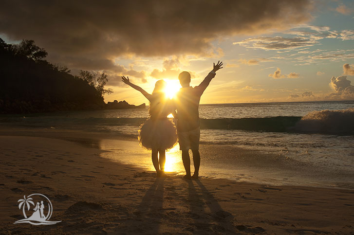 Fotograf Seychellen Honeymoon Paarshooting Anse Georgette