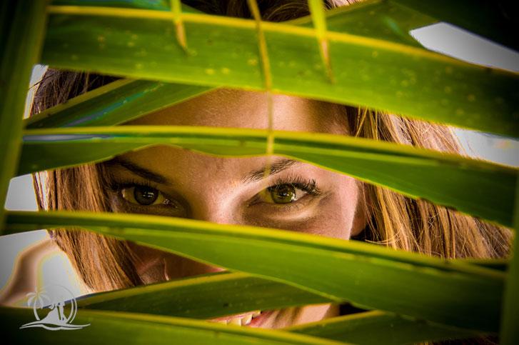 Fotograf Seychellen Honeymoon Paarshooting Palmen