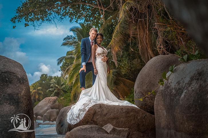 Braut und Bräutigam Carana Beach