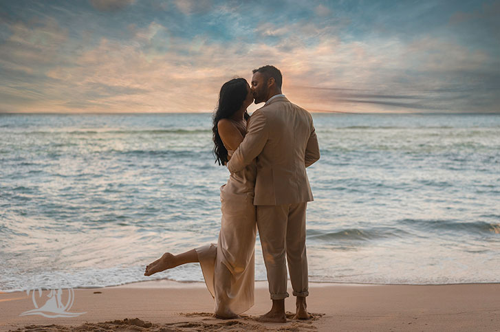 Seychellen Mahe Fotograf Hochzeitspaar Glacis