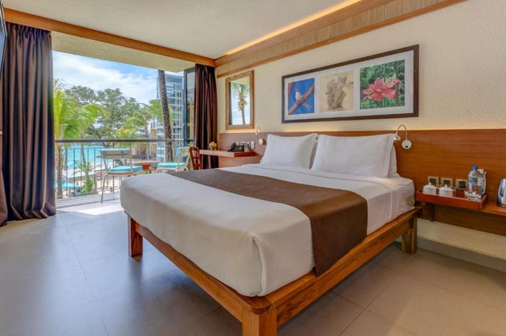 Coral Strand Smart Choice Hotel Sea View Room