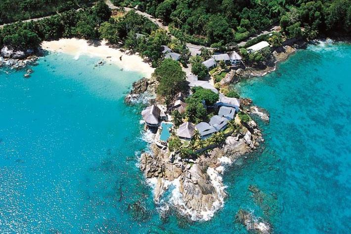Sunset Beach Hotel Aerial