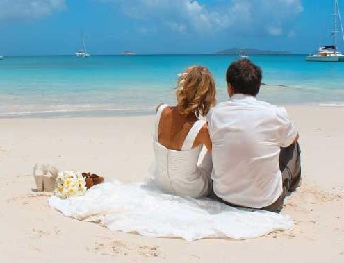 Sweet Memories - Ehepaar symbolische Heirat