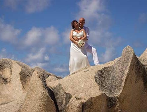 Zwei Herzen - Ehegelöbnis erneuern La Digue